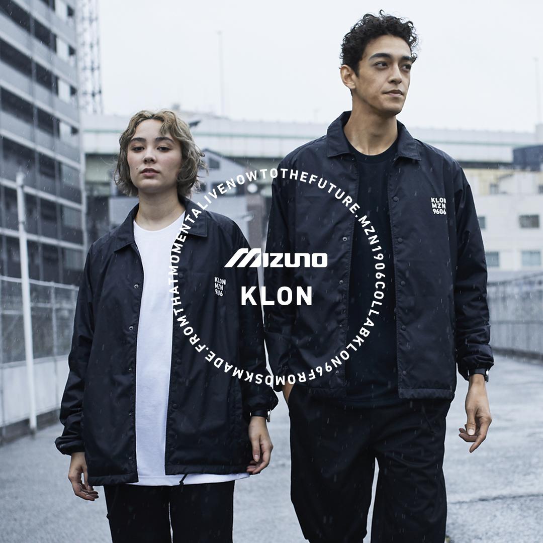 KLON×MIZUNO コラボ LP