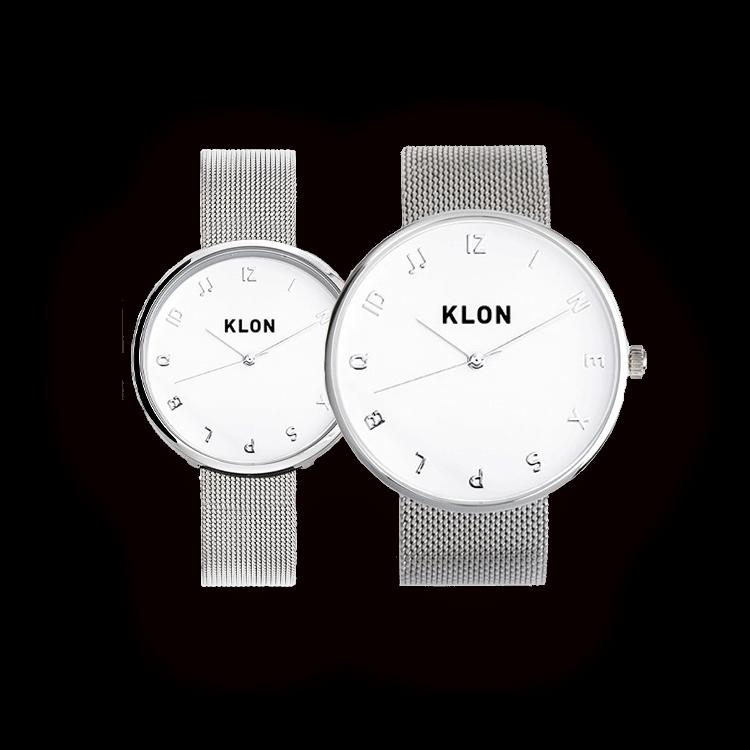 KLON MOCK NUMBER -SILVER MESH- Ver.SILVER(40mm×33mm)