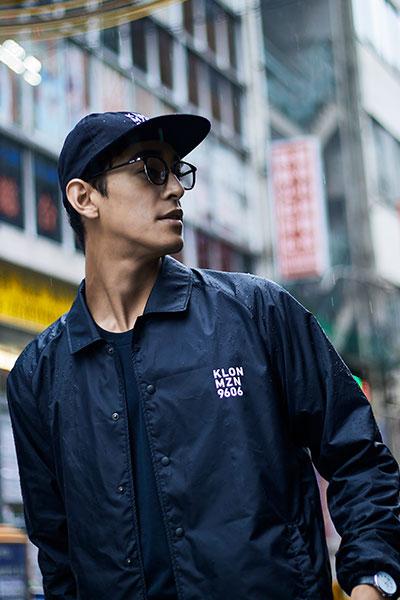 Mizuno KLON CAP着用写真3